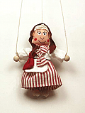 Grandmother ,  puppet marionette
