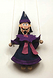 Wizard ,  puppet marionette