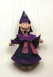 Wizard ,  puppet marionette