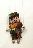 Robber ,  puppet marionette
