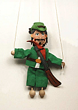 Hunter ,  puppet marionette