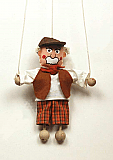 Grandfather ,  puppet marionette