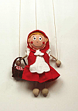 Little Red Cap ,  puppet marionette